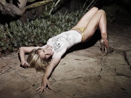 Heidi Klum Body Painting