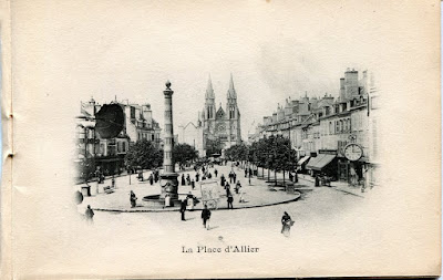 Photo de Moulins, Allier.La Place d'Allier.