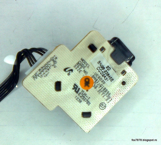 BN96-23845E (cablaj BN41-01899A) - modul joystick si IR Samsung F5318-001