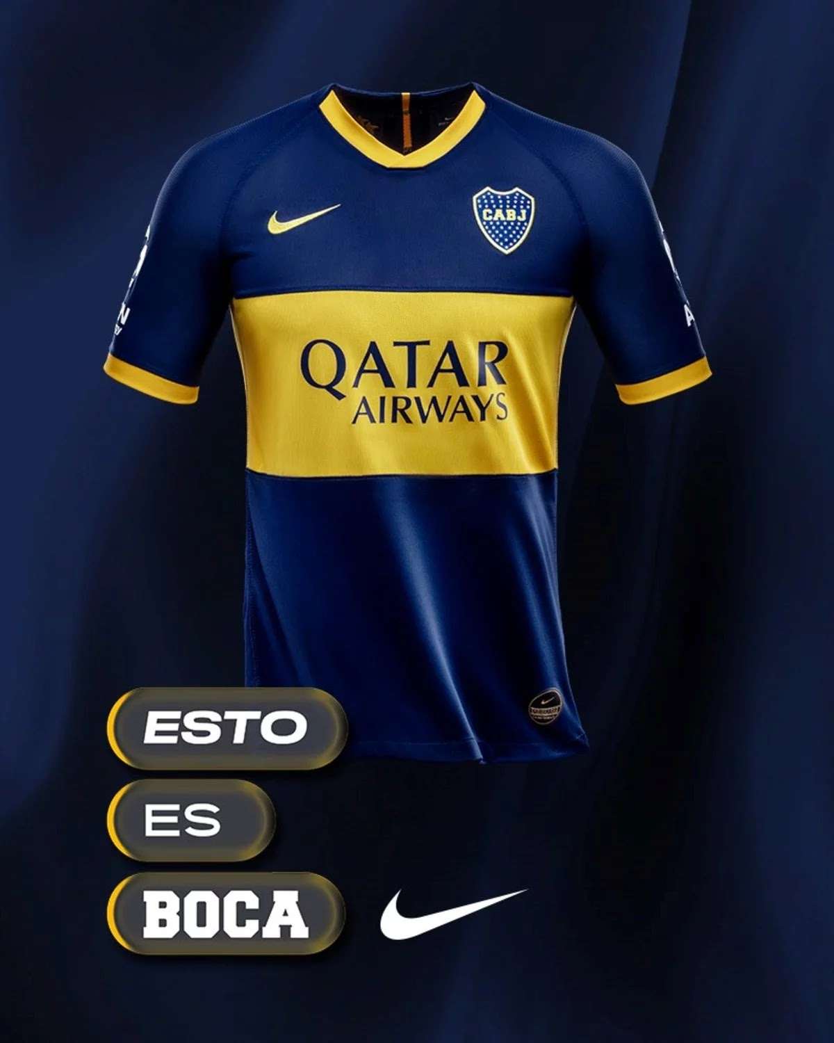 online store 811b1 bfb56 No More Nike After 23 Years: Boca Juniors Signs Record ...
