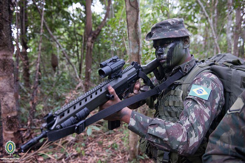 Os primeiros grupamentos a receber o IA-2 foram A Brigada de Operações  Especiais  6052b13c0da