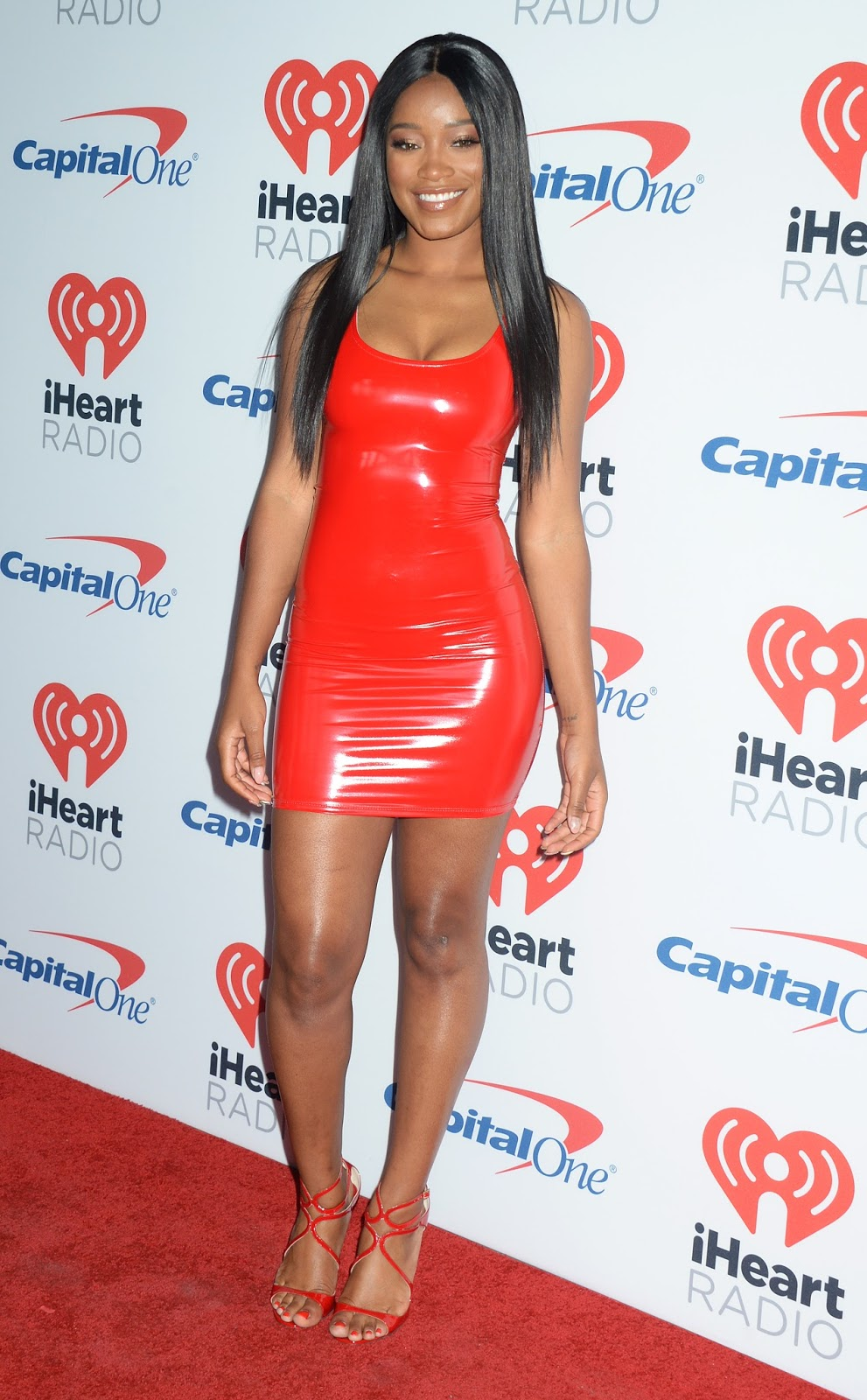 Holly Halston Latex with regard to lovely ladies in leather: keke palmer in a latex mini-dress
