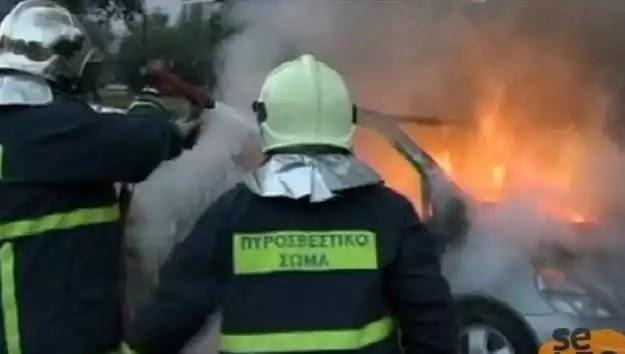 Θεσσαλονίκη: Κάηκε ζωντανός οδηγός μέσα στο αυτοκίνητό του