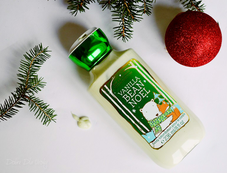 Bath & Body Works Holiday balsam do ciała Traditions Vanilla Bean Noel