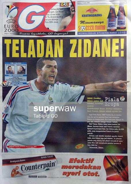 GO EURO 2000: TELADAN ZIDANE!