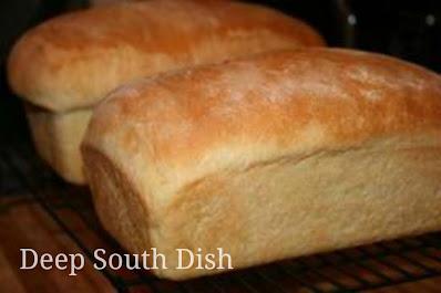 A fantastic recipe for homemade white bread.