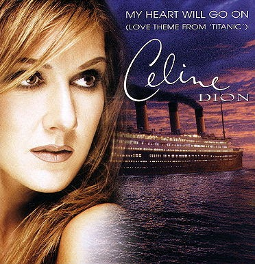 Lirik Lagu Celine Dion - My Heart Will Go On