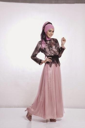 Desain busana muslim remaja modis menawan