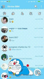 BBM Doraemon V3.2.0.6 Apk