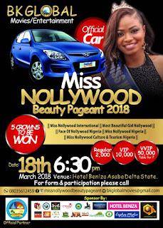 Vote for your favourite Contestant in Miss Nollywood 2018 (Week 2)