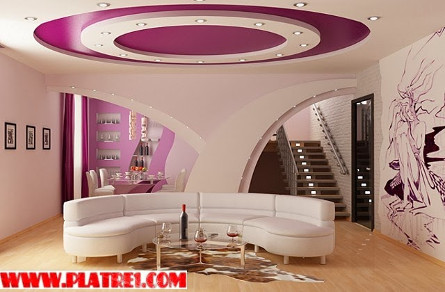Stunning decor placoplatre ba13 chambre a coucher 2017 for Decoration platre salon