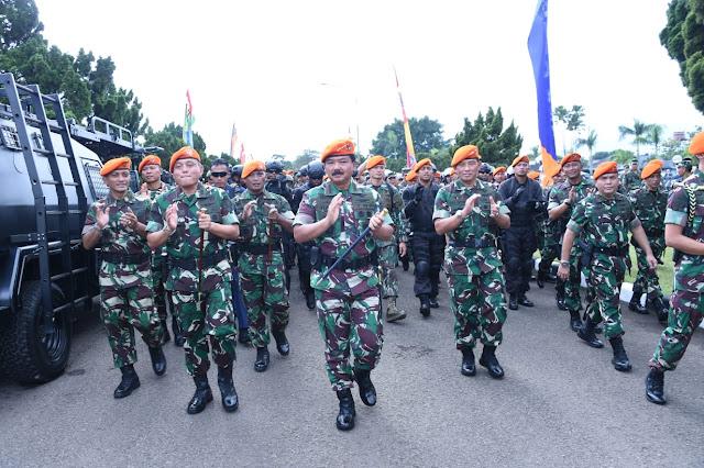 Panglima TNI : Prajurit Korpaskhas Menjadi Yang Terdepan Dalam Setiap Medan Pengabdiannya