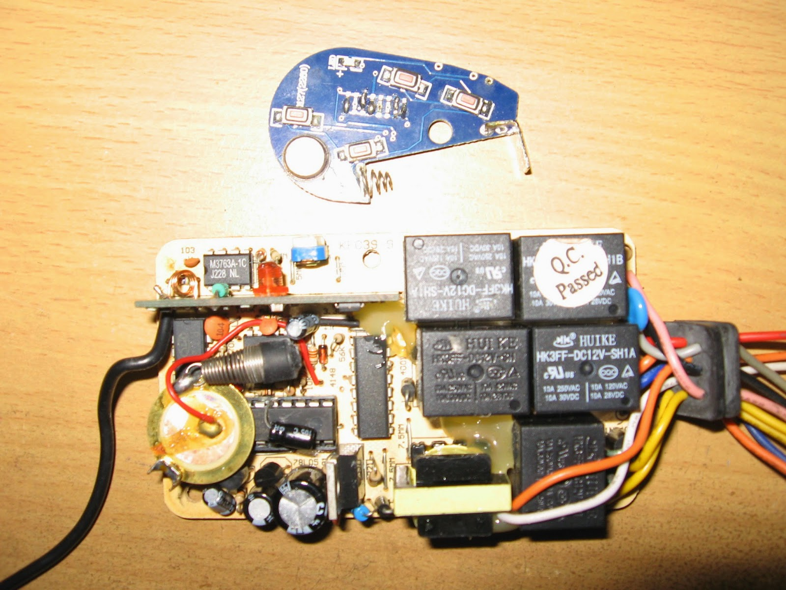 Komponen dalam remote control sepeda motor