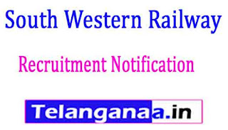 South Western Railway Recruitment Notification 2017