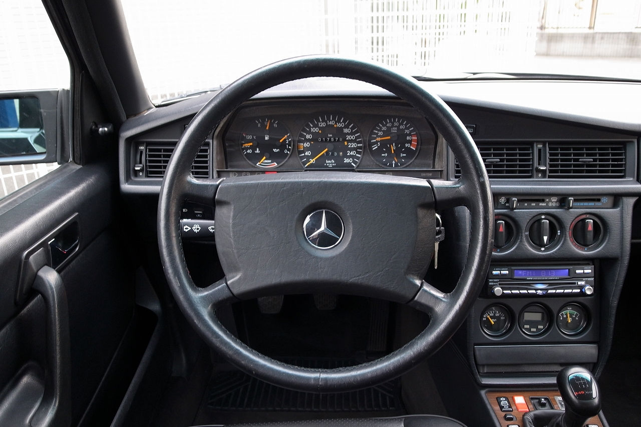 There S A Super Rare 1991 Mercedes 190e 2 5 16v Evo Ii For