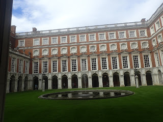 Hampton Court UK Courtyard