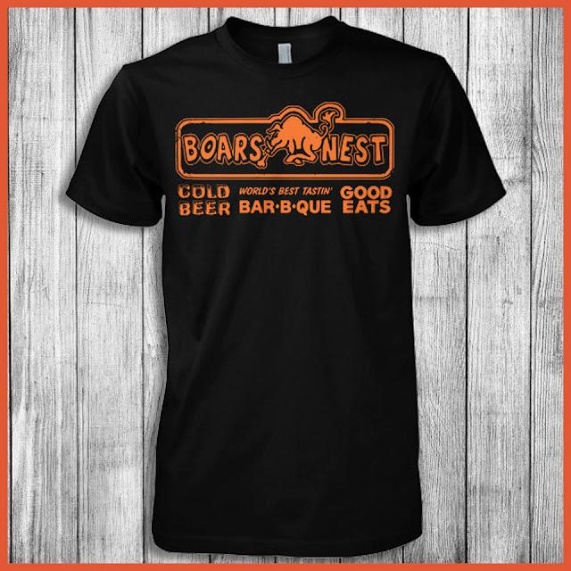 Dukes of Hazzard Boars Nest Good Eats & Cold Beer T-shirt
