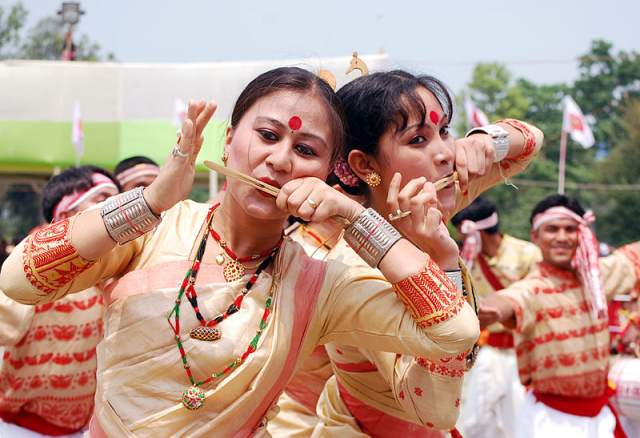Traditional and Folk Dances of Assam
