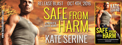 Release Blast & Giveaway: Safe From Harm by Kate Serine