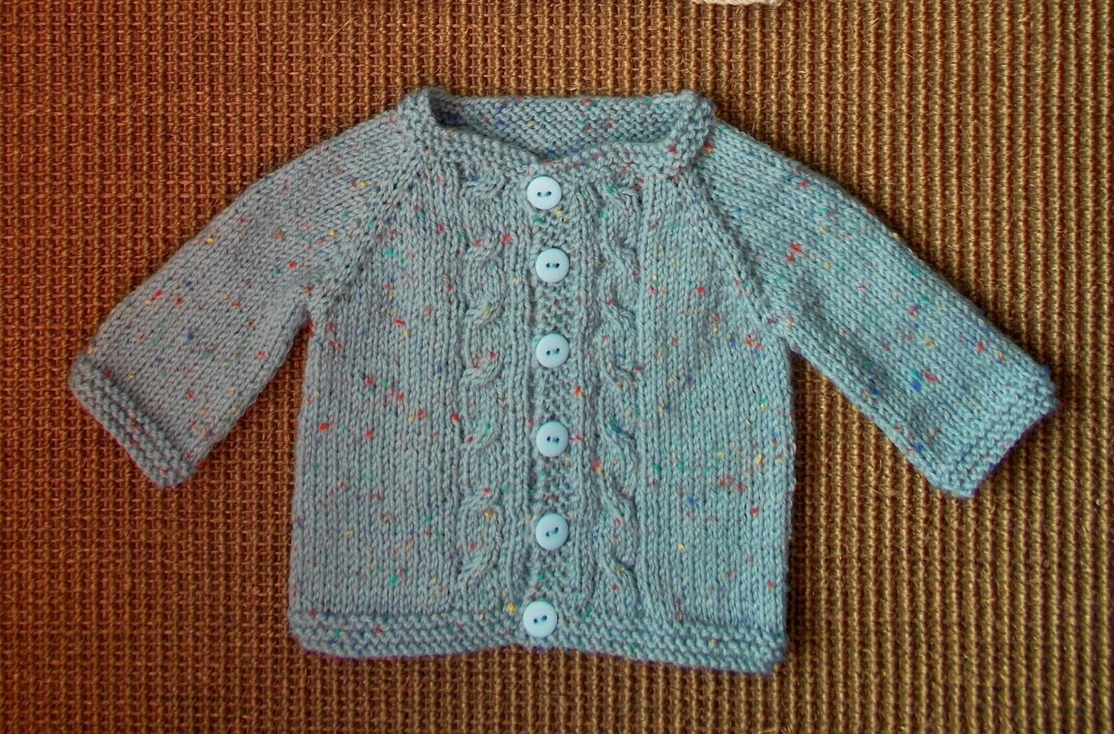 Knitting Pattern Baby Jacket : mariannas lazy daisy days: Max Baby Cardigan Jacket - with eyelet raglan...