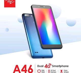ITEL A46 Specs and Price In Nigeria