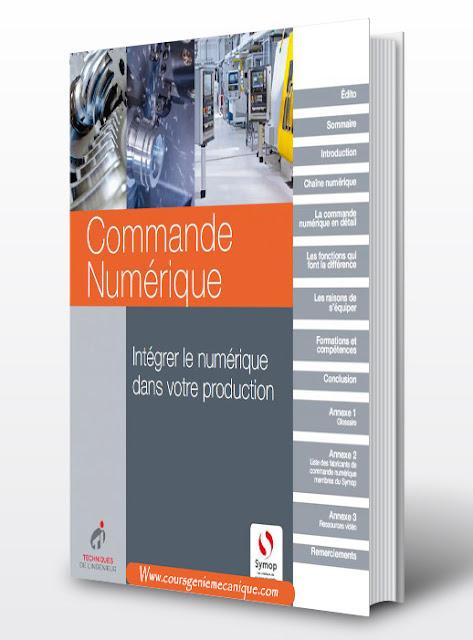livre de commande numérique CNC fanuc Code G Code M - mécanique de précision CN  - Machine Outil à commande numérique CAD CAM - FAO CAO - Conception assisté par ordinateur