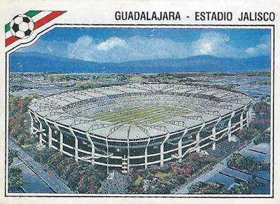 Estadio Jalisco, Messico 86