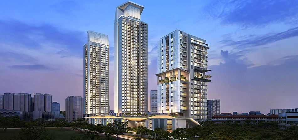 Highline residences at Kim Tian, Keppel Land