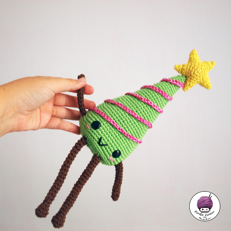 Marta Ruso Crochet Creativo: Christmas tree kawaii amigurumi [FREE ...