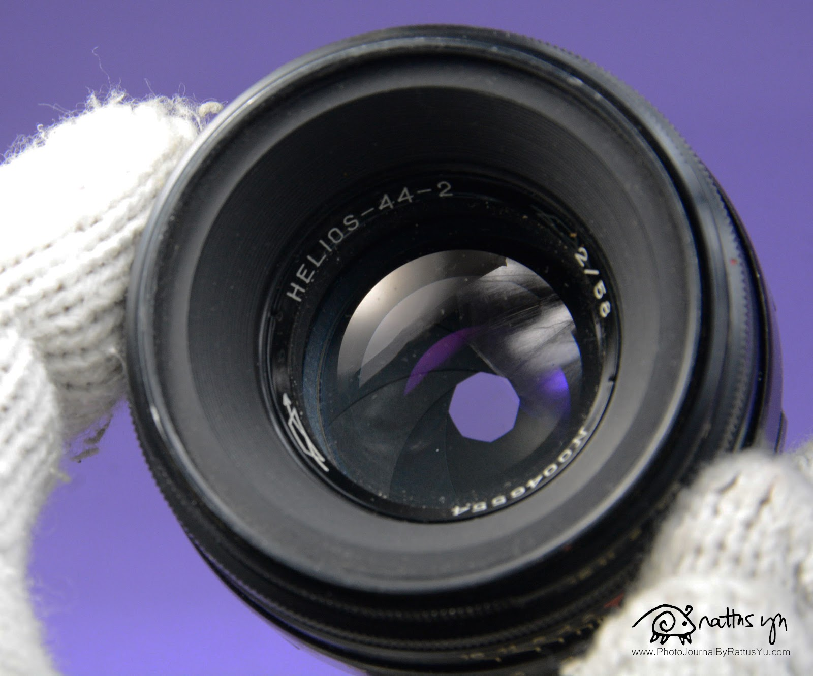 Helios 44-2 58mm f/2, M42 Mount Lens With Swirly Bokeh