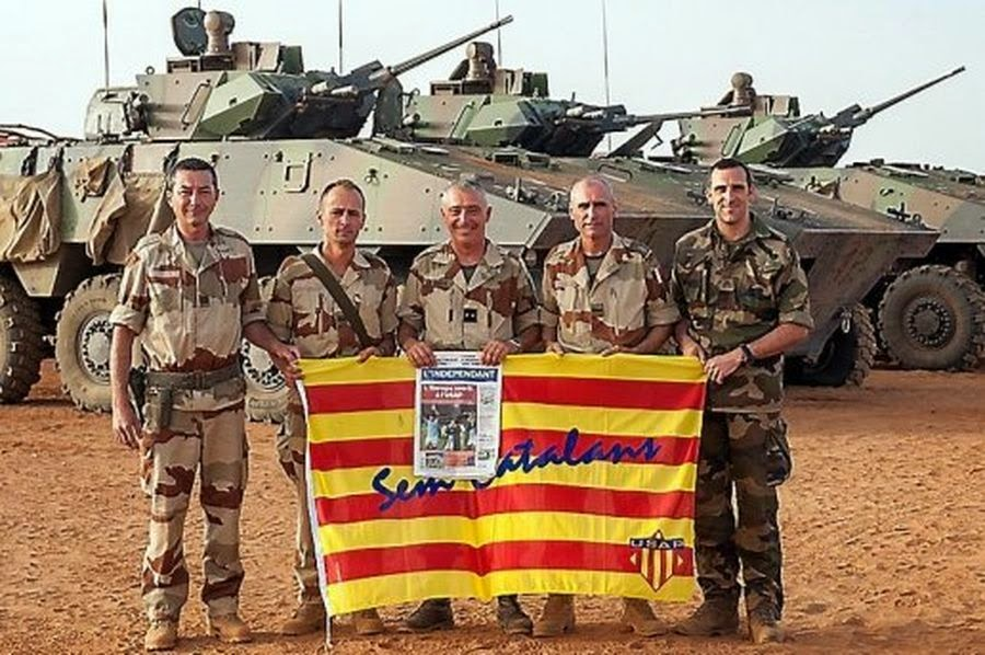 Catalan Soldiers in Mali