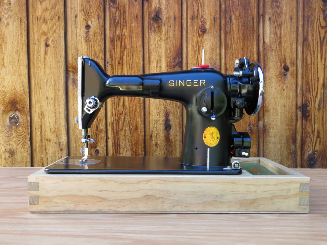The Project Lady Singer Sewing Machine Wood Base