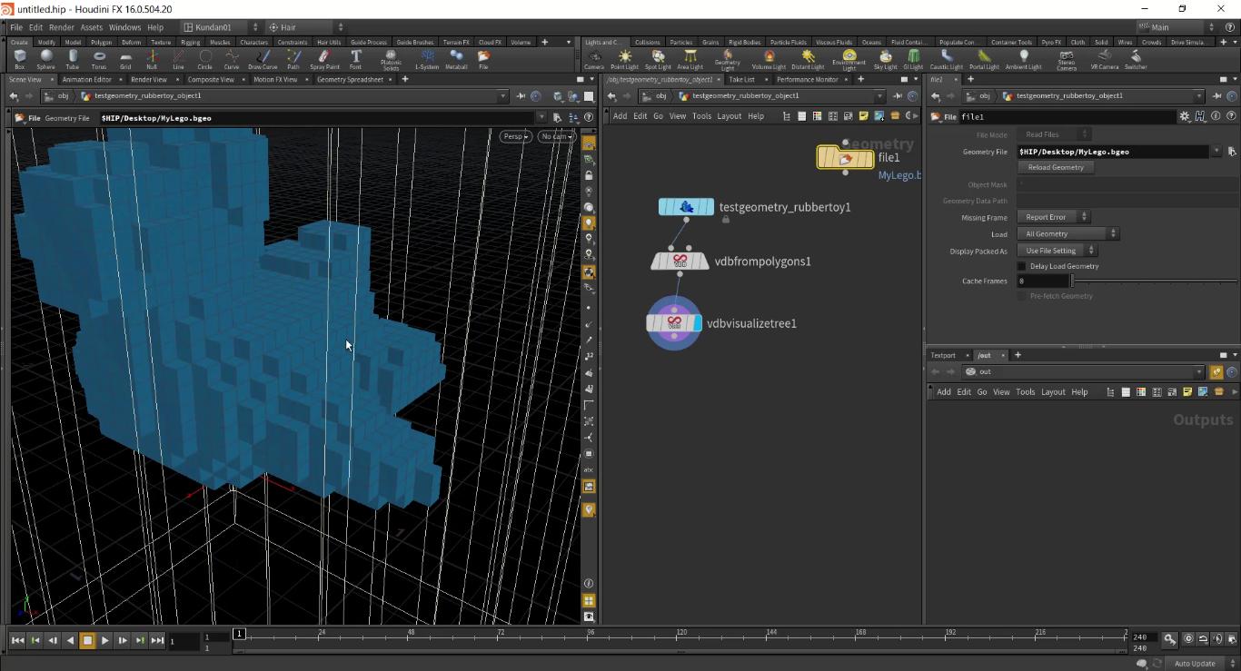 LEGO Simulation In SideFX Houdini | CG TUTORIAL