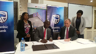 Stanbic bank of kenya signed a partnership that will give employees subsided loans