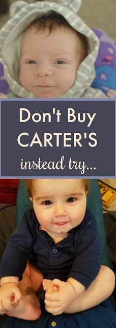 Don't Buy Carter's Baby Clothes, Instead Try
