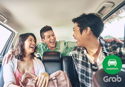 Tinuku Grab Indonesia launches GrabHitch to share regular commuters