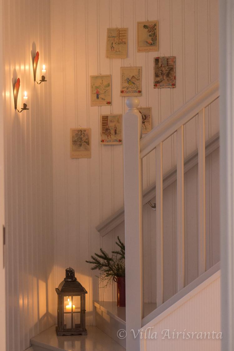 portaikko, beautiful home, joulutunnelmia