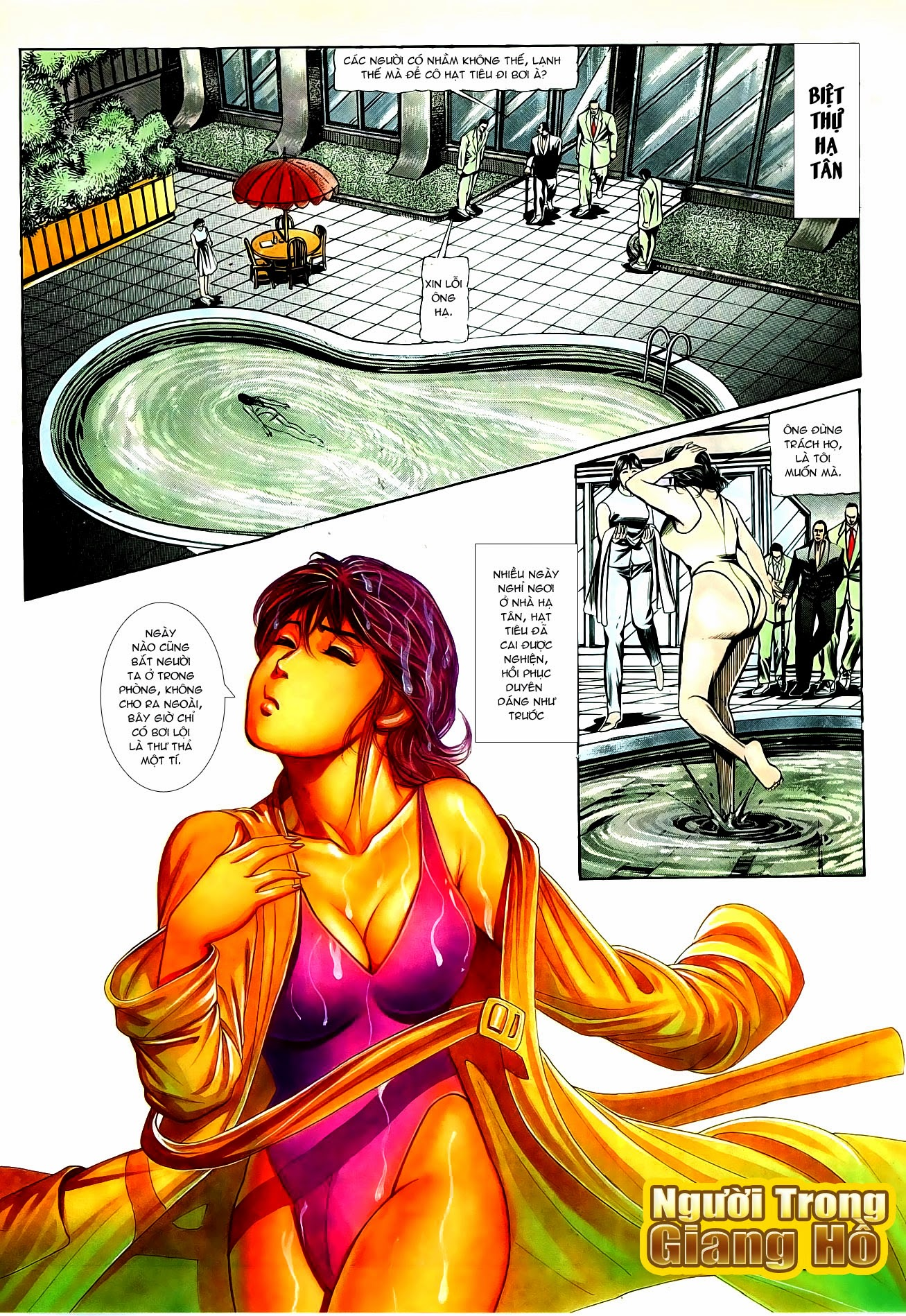 Người Trong Giang Hồ chapter 86: săn báo trang 5