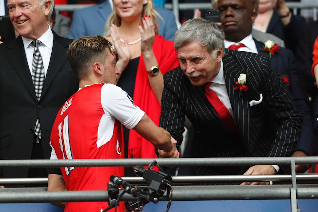 Sports: Arsenal's Stan Kroenke Makes Offer To Buy Whole Of London Club