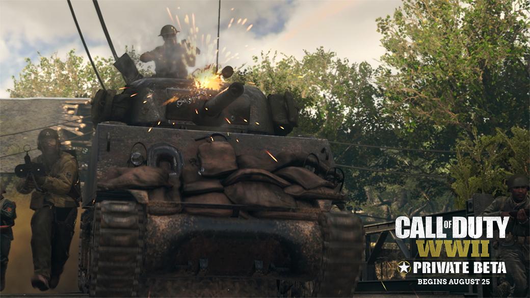 La beta de Call of Duty WWII se luce en un nuevo tráiler, ¡no te pierdas el modo guerra!