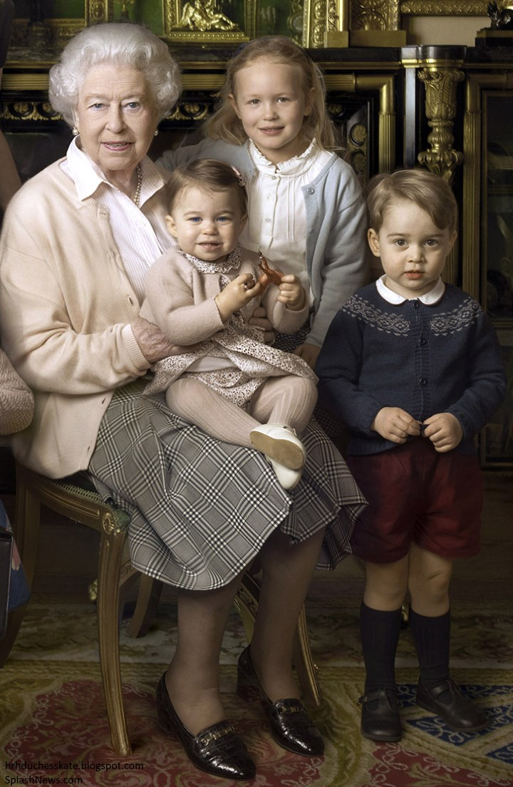 Duchess Kate: Princess Charlotte's Birthday Portraits Released  Duchess Kate: P...