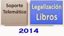 legalización telemática libros
