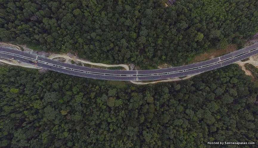 Jalan Pintas Rawang Jambatan Tertinggi Di Malaysia