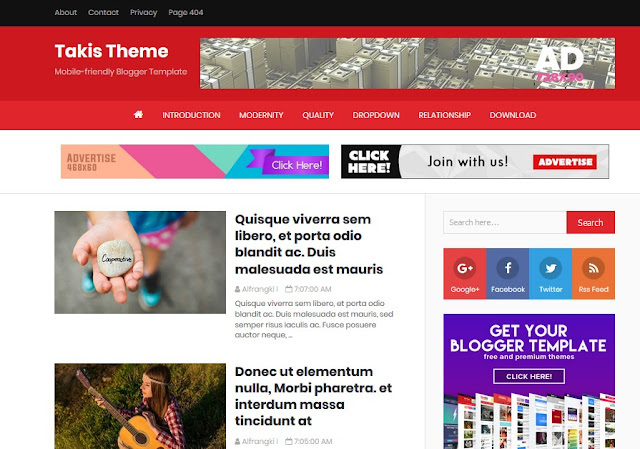 Download  Takis Super Fatest Fast Loading Optimised Blogger Template