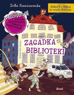 """""""Zagadka Biblioteki"""" Zofia Staniszewska  - recenzja"""