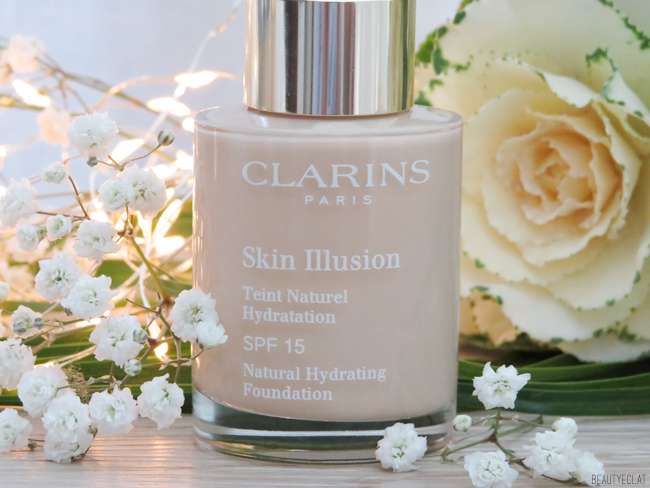 test clarins skin illusion 105 nude