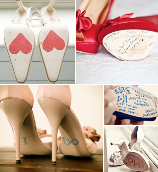 DIY personalizar zapatos de novia. Beauty wedding shoes