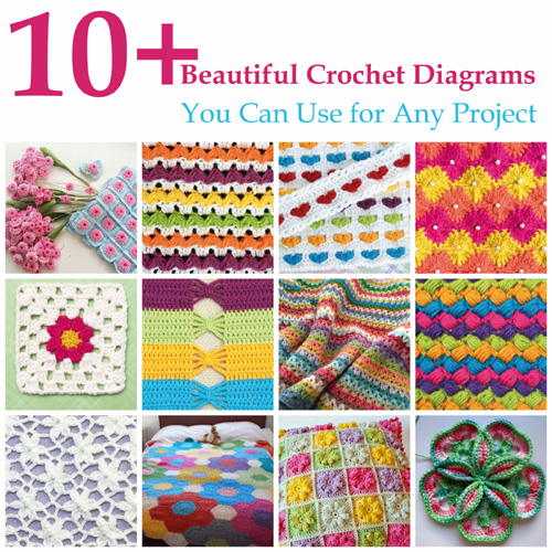 Beautiful Crochet Diagrams