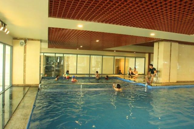 Bể bơi trong nhà dự án The Pride