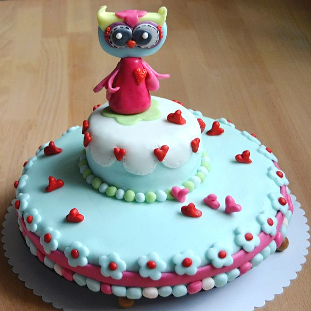 Owl cake for my daugther